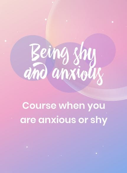 Shyness and anxiety in children? A course for worries and fears